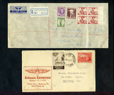 Lot of 9 Australia Collection of Stamps (2 Covers)