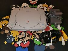 Sony Playstation 1 Psx Ps1 Slim - Model Scph-101 Console W/ Cables