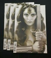 DC COMICS WONDER WOMAN #761 CARD STOCK J MIDDLETON VARIANT EDITION