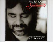 CD ANDREA BOCELLIsentimentoLORIN MAAZEL EX+  (B4277)