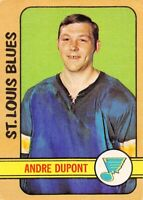 1972-73 O-Pee-Chee #16 Andre Dupont RC Rookie St. Louis Blues