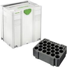 Festool Systainer SYS 5 T-Loc + Kartuscheneinsatz TZE KT Kartuschensystainer
