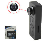8Gb Button pinhole Camera Spy Hidden Camcorder Mini Dvr Surveille Video Recorder