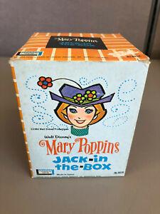 (K) Vintage Disney's Mary Poppins Jack In The Box Dick Van Dyke IN ORIGINAL BOX
