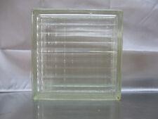 FUCHS Glasbausteine 91 Stück Klar Gekreuzt-Gewellt gebraucht 24 x 24 x 8 cm