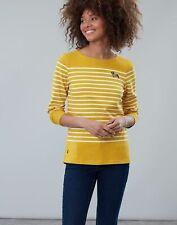 Joules 208574 Lightweight Jersey T Shirt YELLOW PALM FLORAL