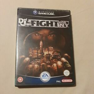 DEF JAM FIGHT FOR NY NINTENDO GAMECUBE GAME WITH MANUAL OFFICIAL UK PAL