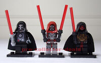 Darth Malgus Marr & Revan Star Wars Minifigures +Stands Sith KOTOR Jedi FREESHIP