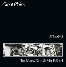 GREAT PLAINS-The Mark, Don 7 Mel EP + 4 LP RE '80s Columbus RON HOUSE