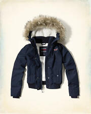 Abercrombie and Fitch – Hollister All Weather Sherpa Bomber Jacket XS or XL NWT