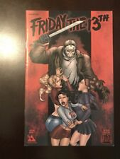 Friday the 13th Special #1 RED COVER VARIANT Avatar