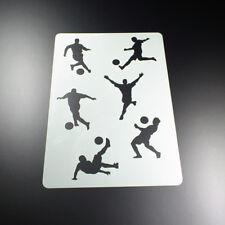 A4 Schablone SPORT Fussball Handball Baseball BB-Flex-Stencils selbstklebend
