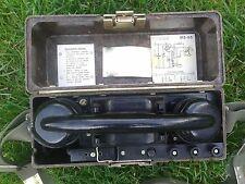 Poland military field telephone crank WP original LWP - Polski wojskowy telefon