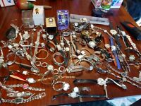 99 Vintage watch lot of watches for parts/repair.