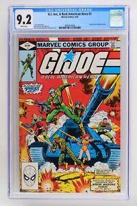 G.I. Joe, A Real American Hero #1 - Marvel 1982 CGC 9.2 Based on the Hasbro toy