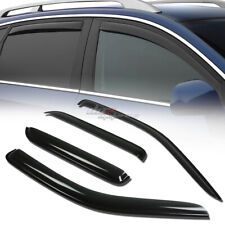 FOR 01-12 ESCAPE/MARINER SMOKE TINT WINDOW VISOR SHADE/VENT WIND/RAIN DEFLECTOR
