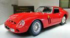 G LGB 1:24 Scala Rosso Ferrari 250 GTO 1962 26018 Burago Molto Dettagliato