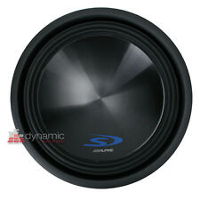 """ALPINE SWS-15D4 Car Stereo 15"""" Type-S Series Dual 4-Ohm Subwoofer 1,000 Watts"""