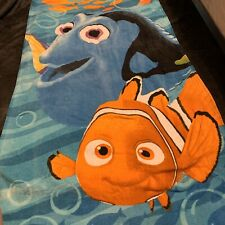 Finding Nemo And Dory Beach Towel measures 24 x 48 inches