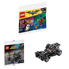 LEGO 30607 / 30446 Disco Batman & Tears of Batman / The Batmobile Polybags
