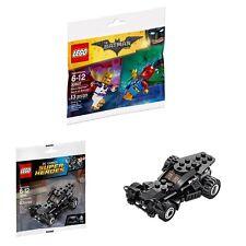 LEGO 30607 / 30446 Disco Batman & Tears of Batman / The Batmobile Polybags