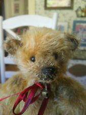 OOAK Artist Teddy Bear by Russian Teddy Bear Artist Irina Loir, Israel 10in EUC