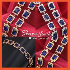 Unbranded Sapphire Tennis Fashion Bracelets
