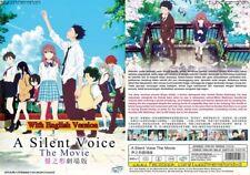 ANIME DVD~ENGLISH DUBBED~A Silent Voice(Koe No Katachi)All region FREE SHIP+GIFT