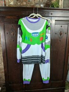 Mens Large Buzz Lightyear Adult Pajamas