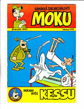 "Moku No 10 -1973 - Finish Sad Sack -""Shouted Out Of Bed Cover!   """
