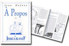 Monographie Jessica Blandy Album, Renaud : A propos de Jessica Blandy Nautilus E
