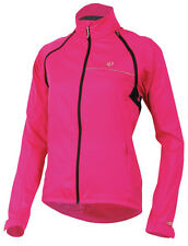 Pearl Izumi Women's Elite Barrier Convertible Bicycle Jacket Berry - Small