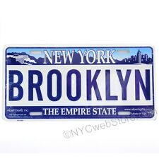 Brooklyn License Plate Souvenir from NYC Online Gift Store