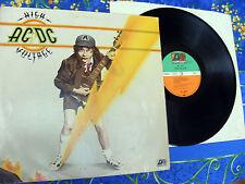 AC / DC ♫ HIGH VOLTAGE ♫ LP vinyl ATLANTIC records #3b
