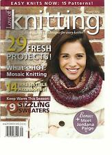 LOVE OF KNITTING, WINTER, 2012 ( PROJECTS, TIPS & TECHINIQUES FOR EVERY KNITTER)