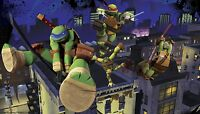 TEENAGE MUTANT NINJA TURTLES PREPASTED WALLPAPER MURAL ~ TMNT Wall Decor