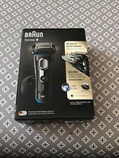 BRAUN SERIES 9 WET & DRY GENTS RAZOR MODEL No 9242s COLOUR BLACK & SILVER.