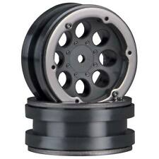 NEW Axial 8-Hole 1.9  Beadlock Wheel Black (2) AX8087