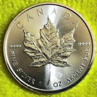 2016 1 oz Reverse Proof Maple Leaf Privy! Canadian Maple Leaf .9999 Fine Silver