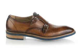 Fiorangelo Leather Shoes Italian New Sizes 6,7,8,9,10,11 Brown