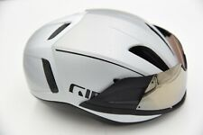 Giro Vanquish MIPS Road Cycling Aero Helmet with Visor White Medium