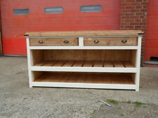 Shop Counter, 190cm, Very heavy solid pine. Painted