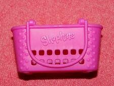 ~SHOPKINS~McDonald's / McDonalds Happy Meal Toy~Shopkins PINK SHOPPING BASKET