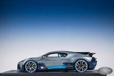 1/18 MR Collection Bugatti Divo The Quail 2018 Show Blue and Gray