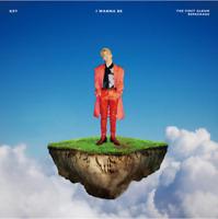 "K-POP SHINee Key 1st Repackage Album ""I Wanna Be"" [ 1 PHOTOBOOK + 1 CD ]"