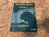 Vintage 1922 Underneath The Mellow Moon Sheet Music