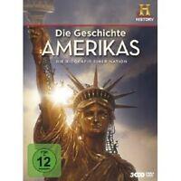 DIE GESCHICHTE AMERIKAS - DIE BIOGRAFIE EINER NATION 3 DVD NEUWARE