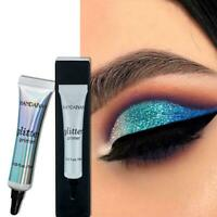 Glitter Eyeshadow Primer Face Glue Creme Flüssiger Primer Lidschatten K8O3