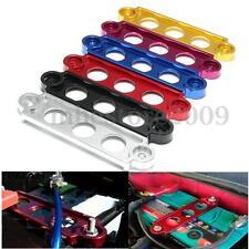 Battery Tie Down Fasten Bracket Holder Brace Bar Aluminum Auto Accessories Part