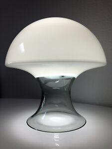 Vistosi Murano Glass Mushroom Lamp Laurel Mid Century Modern Venini, Eames Knoll